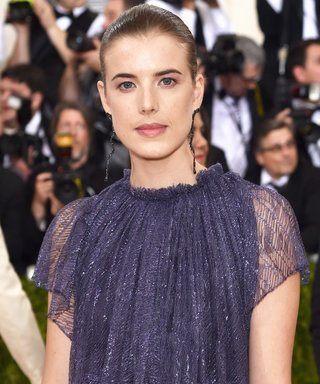 Model Agyness Deyn Got Married This Weekend—and She Didn't Wear White