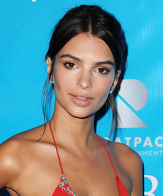 Emily Ratajkowski's Printed String Bikini Might Just Be Her Skimpiest Swimwear Yet