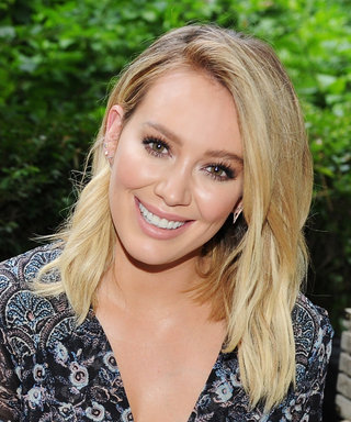Hilary Duff Puts Her Toned Legs on Display in a Pair of Tiny Denim Shorts in N.Y.C.