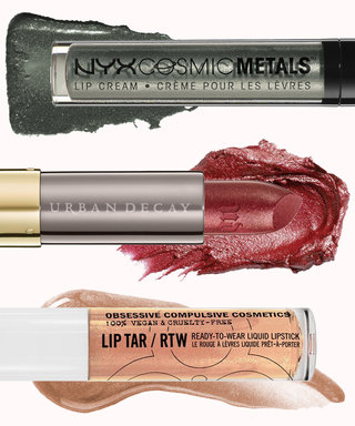 Here's How You Can Pull Off the Metallic Lip Trend