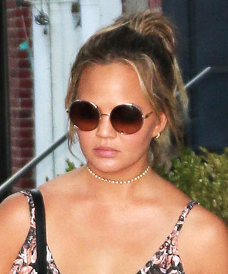Chrissy Teigen's Figure-Flattering Travel Style Is Both Chic and Comfortable