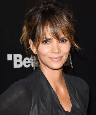 Halle Berry Serves Up Major #Fitspo Putting Her Enviable Six-Pack Abs on Display in a Cutout Bikini