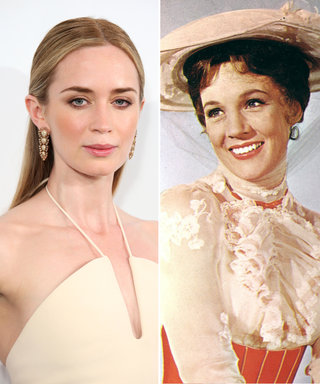 Julie Andrews Reacts to Emily Blunt's Casting as the New Mary Poppins