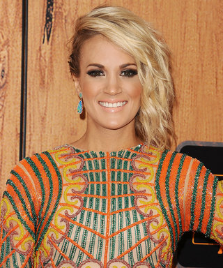 Carrie Underwood Shares the Sweetest Photo of Her Son Sleeping on a Glacier