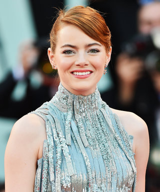 Here's How to Get Emma Stone's Pinterest-Worthy Updo From the Venice Film Festival