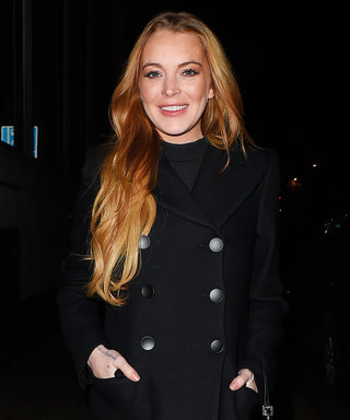 Lindsay Lohan and Her Mom Do the Splits in Impressive Throwback Photo
