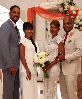 Will and Jada Pinkett Smith Look Crazy in Love at Her Mom's Wedding