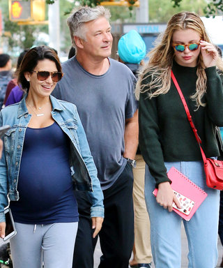 Alec Baldwin Steps Out with His Family in N.Y.C.
