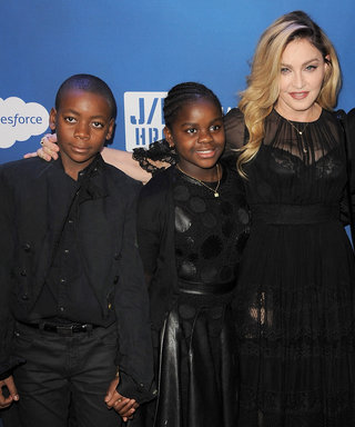 Madonna's Children Pose with Mom Before Heading Back to School