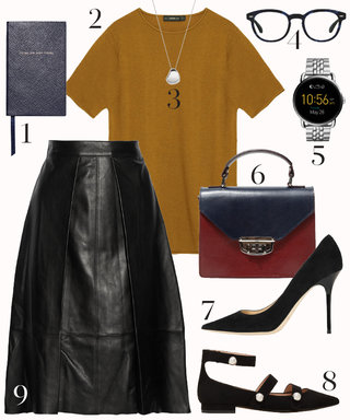 This Perfect Transitional Look Will Help You Ease into Fall