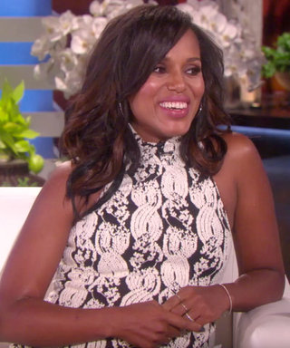 """Kerry Washington Conceals Her Pregnant Belly on Scandal by """"Hiding Behind Different Body Parts"""""""