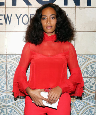 Solange Knowles Is Red Hot in Prabal Gurung for NYFW
