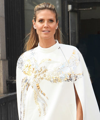 Heidi Klum Channels Her Inner Superhero for Project Runway's NYFW Finale
