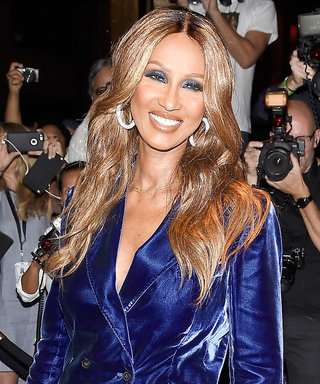 "Iman Chronicles Her Colorful ""First Night Out"" Since Late Husband David Bowie's Passing"