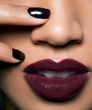 How to Keep Fall's Dark Lipstick Smudge-Free