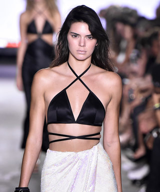 Kendall Jenner Slays the Runway at Alexander Wang's Show (Plus, Madonna and Lourdes Front Row!)