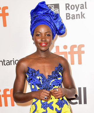 Lupita Nyong'o Stuns in a Bold and Beautiful Look at TIFF