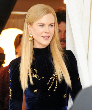 Nicole Kidman Dazzles at TIFF in an Embroidered Velvet Gown