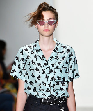 Jeremy Scott and Alexander Wang Dabble with the Risqué at #NYFW