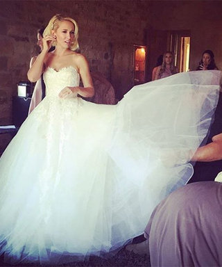 Anna Camp Gives Us a 360-Degree View of Her Wedding Dress