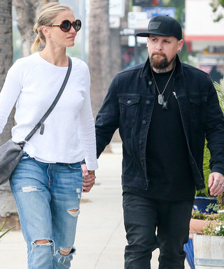 Cameron Diaz and Benji Madden Take a Romantic Stroll Through L.A.