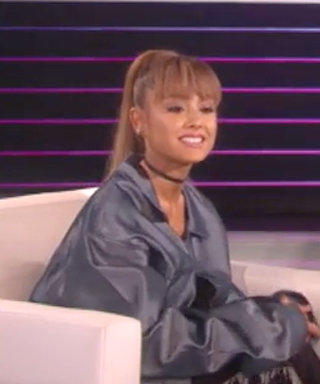 Ariana Grande Gets Adorably Shy While Talking About Her Relationship on Ellen