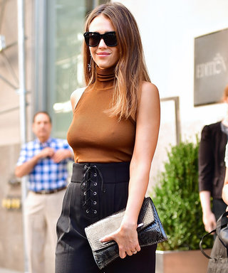 Jessica Alba Takes NYFW by Storm in Two Chic Outfits