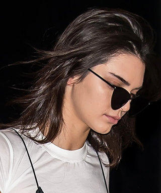 Kendall Jenner's Flared Floral Pants Top Off Her Most Eye-Catching Look Yet
