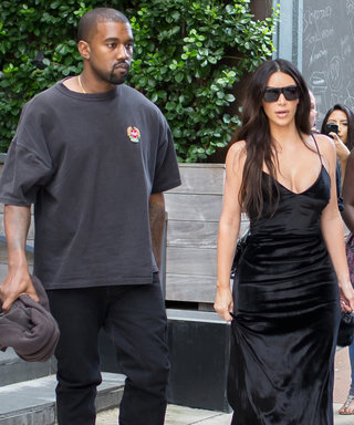 Kanye and Kim Kardashian West Color Coordinate in Black Outfits While Out in N.Y.C.