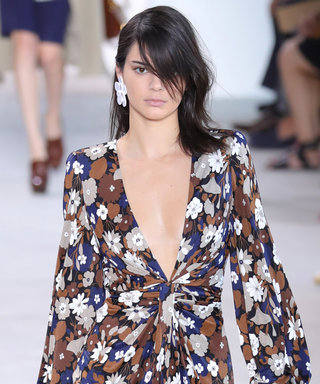 Kris Jenner Couldn't Be a Prouder Mom Watching Kendall Walk Down the Michael Kors Runway