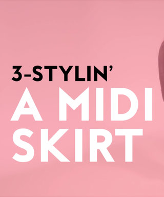 VIDEO: 3 Ways to Wear a Midiskirt