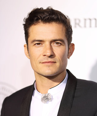 Orlando Bloom's Platinum Blonde Hair Must Be Seen to Be Believed