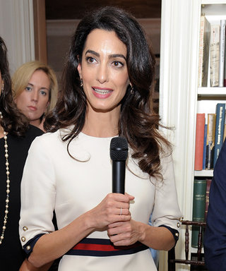 Amal Clooney Wore the Chicest White Dress to U.N.Event