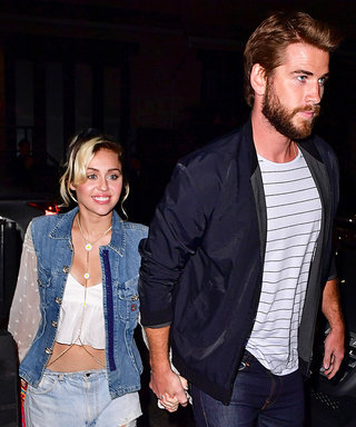 Miley Cyrus Is All Smiles in Head-to-Toe Denim for Date Night With Liam Hemsworth