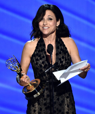 Julia Louis-Dreyfus Dedicates Emmy Award to Her Father Who Passed Away on Friday