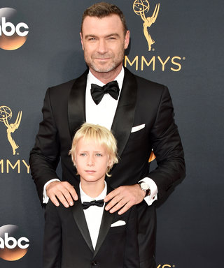 Liev Schreiber and Son Sasha Are the Cutest Father-Son Duo on the Emmys Red Carpet—See their Getting-Ready 'Grams