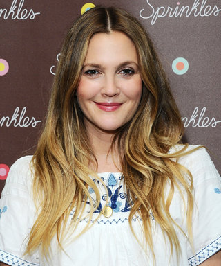 "Drew Barrymore Tackles Monday in a Frilly Floral ""Meeting to Meeting"" Dress"