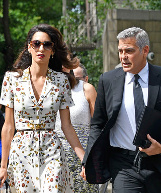 George and Amal Clooney Look So in Love While Holding Hands at the UN General Assembly