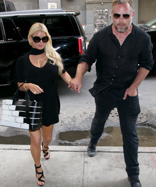 Jessica Simpson and Eric Johnson Are Style Twins in Coordinating All-Black Outfits
