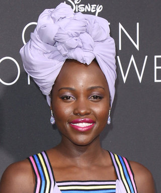 Lupita Nyong'o Is a Vision in Lavender at the Queen of Katwe Premiere in L.A.