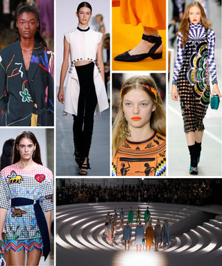 The Top 18 Trends, Ideas, and Styling Tricks We Loved from Spring 2017 LFW