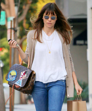 Jessica Biel Steps Out in the Perfect Autumn Outfit