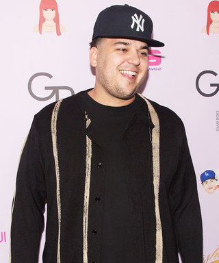 ICYWW, This Is What Rob Kardashian Looks Like Platinum