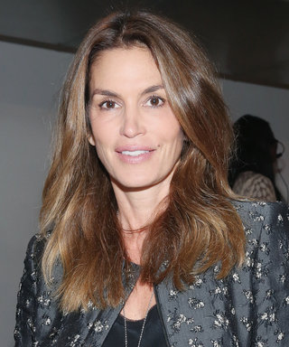 Cindy Crawford Rocks Black Underwear and Thigh-High Boots in Sexy New Snaps