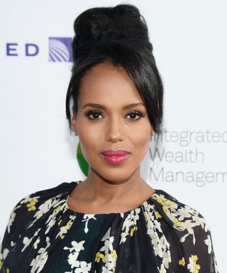 Kerry Washington Cradles Her Baby Bump in Gorgeous Instagram Photo