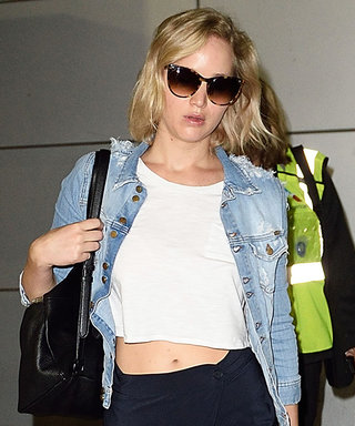 Jennifer Lawrence Nails Breezy Airport Attire in Super Cool Pants