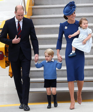 Kate Middleton and Prince George Steal the Show as the Royal Family Lands in Canada