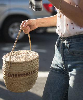 Why You ShouldCarry Your Summer Straw Tote in the Fall