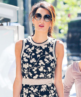Amal Clooney Is Gorgeous in Ladylike Florals