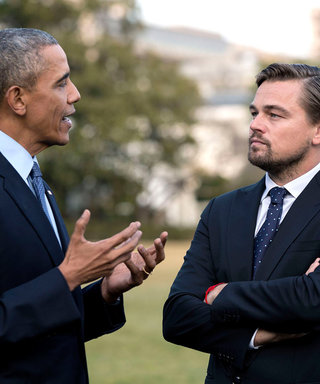 Leonardo DiCaprio and Barack Obama Get Real About Climate Change at the White House